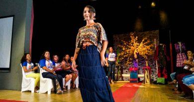 Na trajetória da autonomia, turma de Horizonte apresenta criações em Desfile de Moda Sustentável, no Senac RioMar