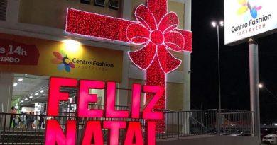 Centro Fashion Fortaleza tem horários especiais de funcionamento para compras de Natal e Ano Novo