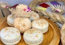 Macaron de Paçoca e Paçoquinha com chocolate belga na Sablé Diamant também em Julho
