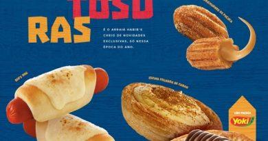 Habib's surpreende com novos produtos; Hot Dog e novos sabores em esfihas folhadas e mini-churros estão entre as novidades