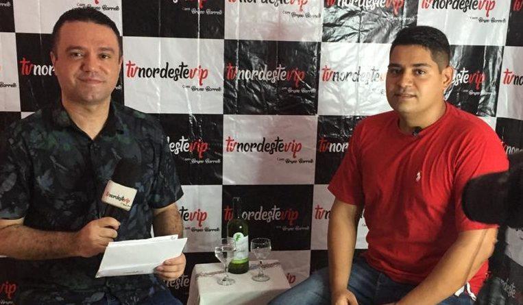 TV NordesteVIP : Entrevista com o Jovem Kᴇᴠᴇʀᴛʜᴏɴ Xɪᴍᴇɴᴇs