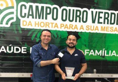 TV NordesteVIP: Entrega do Troféu a Distribuidora Campo Ouro Verde