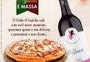 Empresa de vinhos lança campanha de apoio ao delivery de pizzarias e restaurantes